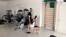 step uo, allenamento, pillole workout, glutei